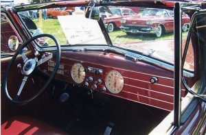 Cadillac steel dash